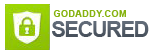 Zairmail site is secured through GoDaddy SSL